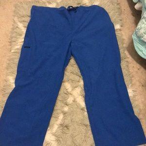 Jokey XL scrub pants (blue)